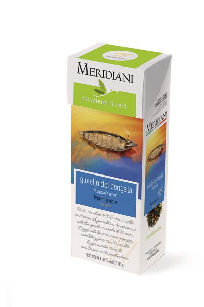 Gioiello Bengala - Tè nero curcuma e zenzero