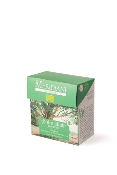 Giardino Eden BIO - Tè verde mela e aronia