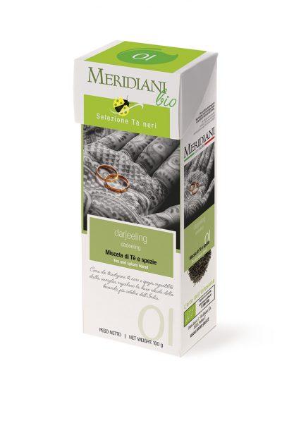 Darjeeling - tè nero indiano biologico