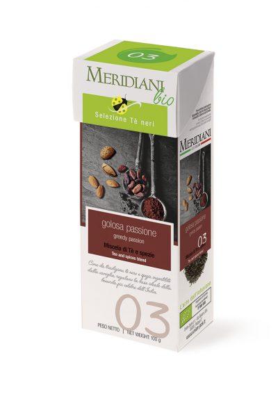 Golosa Passione BIO - Tè nero al cacao