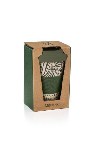 SETTE VIRTU Mug in bamboo con 7 tè