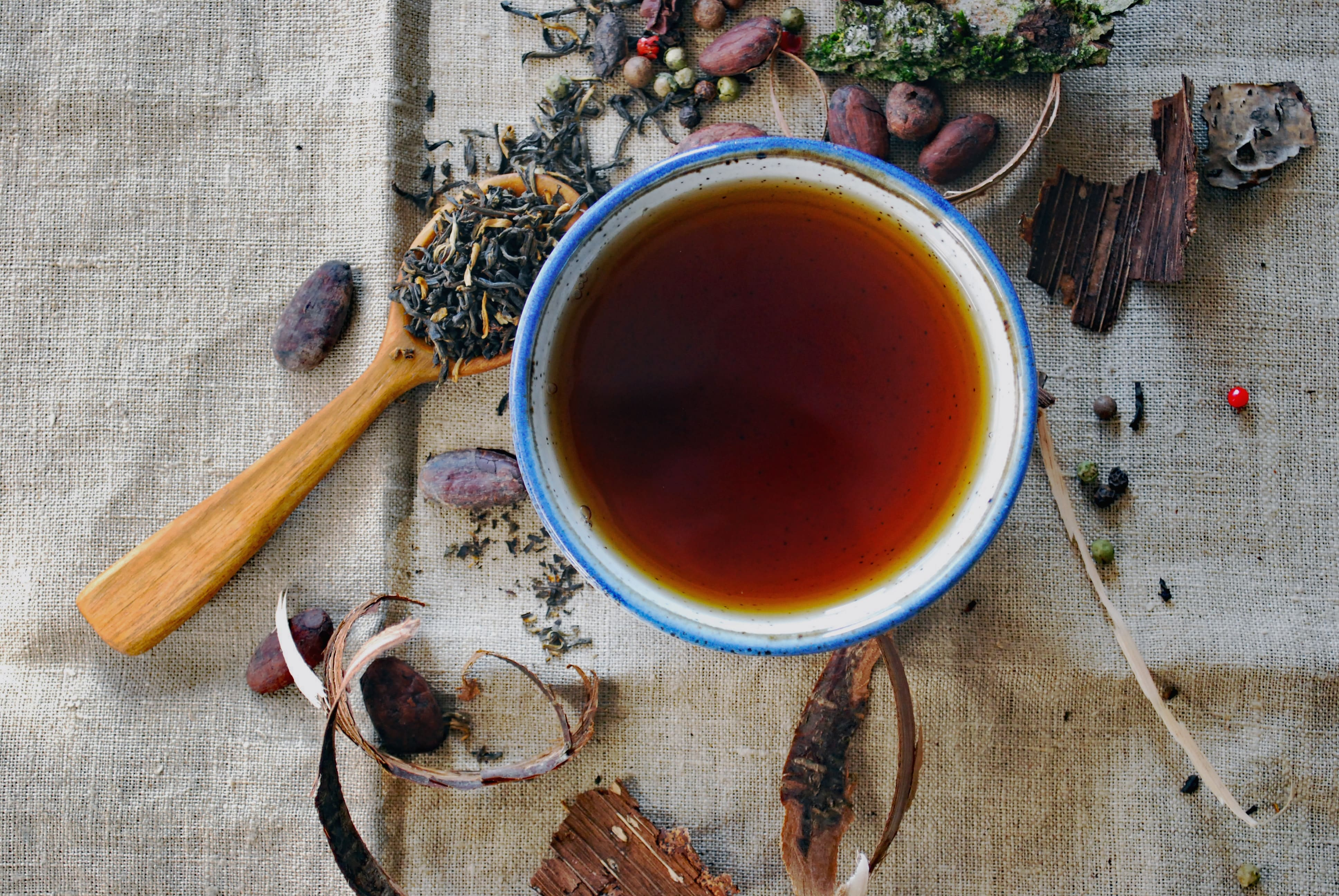 Digestive Herbal Teas as an anti-bloating remedy
